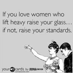 Women who lift heavy!