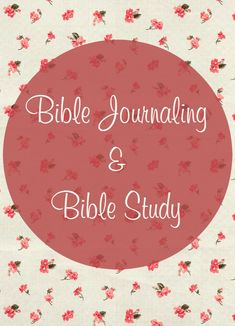 The last week or so, I've been using a Bible commentary as I read my Bible so now I'm combining Bible journaling and Bible study.