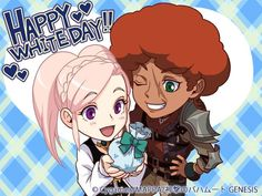 Shingeki no Bahamut: GENESIS | Happy White Day!: Amira and Favaro