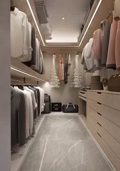 Smart Home Interior Design Ideas. In this video you will get some ideas that may help you to find the best Interior design for your apartment. Wardrobe Design Bedroom, Bedroom Closet Design, Bedroom Furniture Design, Closet Designs, Master Closet Layout, Walk In Wardrobe Design, Small Master Closet, Master Bedroom, Master Suite