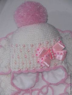 """Одежда для девочек, ручной работы. Ярмарка Мастеров - ручная работа комплект для девочки """"розовый жемчуг"""". Handmade."""
