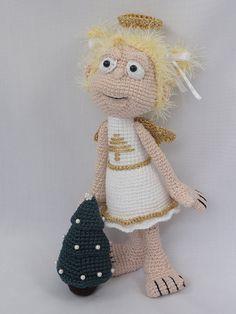 Amigurumi Crochet Pattern  X-mas Angel by IlDikko on Etsy