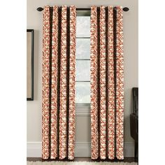 Batik Curtain Panels