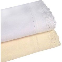 Veratex, Inc. Camden Lace Bedding Sheet Set, White