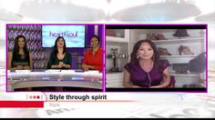 Tiffany Hendra shares style tips for amping up the fabulous! Style Through Spirit on Heart & Soul TV