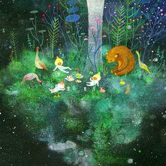 Islands of Life by APAK STUDIO, via Behance