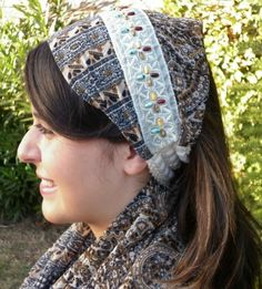 Headband Wide Turban Head Scarf Hair Wrap Head Wrap Hair Band - fatwoman $17.00