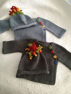 Baby Knitting Patterns Jumper Ravelry: Project Gallery for Puerperium Cardigan pattern by Kelly Brooker Baby Sweater Patterns, Knit Baby Sweaters, Knitted Baby Clothes, Cardigan Pattern, Baby Patterns, Knit Patterns, Baby Knits, Baby Cardigan Knitting Pattern Free, Sewing Patterns