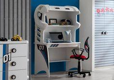 Παιδικό γραφείο Garage 102 Loft, Bed, Furniture, Home Decor, Decoration Home, Room Decor, Lofts, Home Furniture, Interior Design