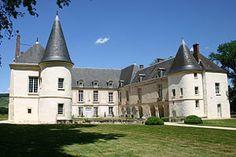 Southern façade of the Château de Condé