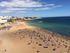 Ete 2015 #portugal #albufeira #plage #sable #mer #soleil