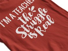 HA ha funny teacher shirts (Im a teacher) - Teacher Shirts - Ideas of Teacher Shirts - HA ha funny teacher shirts (Im a teacher) Kindergarten Teacher Shirts, Teaching Shirts, Math Shirts, Work Shirts, Teacher T Shirts, Funny Shirts, Teacher Quotes, Teacher Humor, Math Teacher