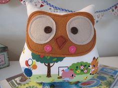 SALE Owl plush toy Patty by pinchface on Etsy, $12.00
