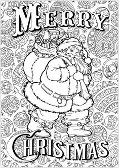 Christmas Coloring Pages Printable Printable Christmas Colouring Pages the organised Housewife Santa Coloring Pages, Printable Christmas Coloring Pages, Christmas Coloring Sheets, Coloring Book Art, Halloween Coloring Pages, Online Coloring Pages, Cool Coloring Pages, Free Christmas Printables, Coloring Pages To Print