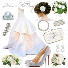 """Dream Wedding! ;)"" by veradediamant on Polyvore"
