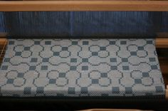 "summer & winter ""trellis"" pattern towels"