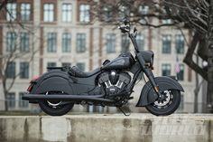 Indian Motorcycle presents the Indian Chief Dark Horse, a stealthy member to the Chief line-up and first 2016 model. Motorcycle News, Bobber Motorcycle, Cool Motorcycles, Motorcycle Style, Vintage Motorcycles, Motorcycle Goggles, Motorcycle Posters, Motorcycle Quotes, Triumph Motorcycles
