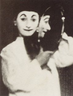 The extraordinary story of Erwin Blumenfeld - Telegraph Self-portrait as Pierrot, Berlin 1909