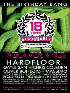 18 years of Poison Club