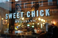 Full branding, signage, and photography for restaurant located in Williamsburg, Brooklyn. Chicken Bar, Chicken Shop, Fried Chicken, Restaurant Branding, Restaurant Design, Chicken Brands, A New York Minute, Food Spot, Café Bar