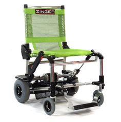 North America's exclusive source for the Zinger folding powered mobility chair.  The world's most convenient powered chair, folds instantly, fits in any car, and outperforms scooters twice its size.