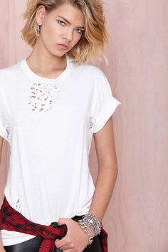 After Party Vintage Essential Tee   Shop What's New at Nasty Gal