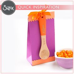 Sizzix Inspiration | Bakers Gift Bag by Melissa Fallon