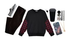"""""""Untitled #84"""" by mrs-nick-robinson ❤ liked on Polyvore featuring Pieces, Bobbi Brown Cosmetics and Vans"""