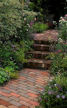дорожки в саду - Поиск в Google