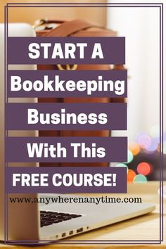 Do you like working with numbers and want the freedom and flexibility that comes from being your own boss. Starting a virtual bookkeeping business may be the perfect work at home online career for you. Check out this free course to help you determine if starting a bookkeeping business is a good fit for your lifestyle. Perfect for beginners looking for a new side hustle or full time online business (or even as a job).