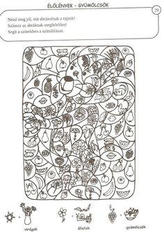 Varázsképek készségfejlesztő - Zsuzsi tanitoneni - Picasa Web Albums Fall Coloring Pages, Coloring For Kids, Printable Coloring Pages, Color By Number Printable, Alphabet And Numbers, Winter Colors, Dots, Symbols, Children