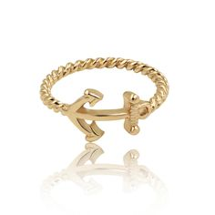 Metallic band with midi anchor symbols. Fashion Rings, Sailor Moon, Anchor, Metallic, Symbols, Band, Bracelets, Jewelry, Sailor Moons