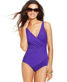 75844bfa73 Miraclesuit Oceanus One-Piece Swimsuit Flattering Swimsuits, Cute Swimsuits,  Women Swimsuits, Cruise