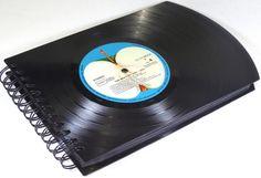 XXL Fotobuch Fotoalbum The Beatles  von VinylKunst Aurum - Schallplatten Upcycling der besonderen ART auf DaWanda.com