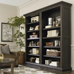 Influenced by European architecture it can fit into many home environments and is multi functional.  You can build that one of a kind cozy home library ...