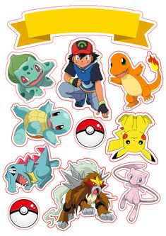 Lots of event Can be used, print and cut, even for scrapbooking!Event Event may refer to: 6th Birthday Parties, 8th Birthday, Pokemon Cake Topper, Cake Toppers, Festa Pokemon Go, Pokemon Party Decorations, Pokemon Printables, Party Printables, Pokemon Birthday Cake