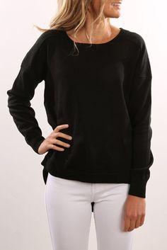 Grange Knit Black
