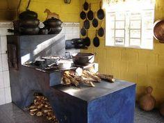Como fazer um fogão a lenha - http://www.comofazer.org/faca-voce-mesmo/como-fazer-um-fogao-a-lenha/