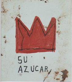 Jean-Michel Basquiat: Su Azucar, 1985.