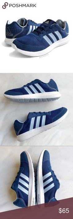 Adidas Element Refresh Running Shoes Adidas Element Refresh running shoes  in navy blue with light blue