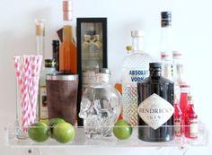 How to Build a Bar Tray | http://home-decor-inspirations.blogspot.com