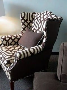 DIY reupholster...I want this done to our wing back recliner.