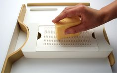 One-Hand Kitchen Equipment for Handicapped People by Gabriele Meldaikyte » Yanko Design. Repin from Julie.