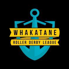 Whakatane Roller Derby Roller Derby, Calm, Logos, Kiwi, Logo