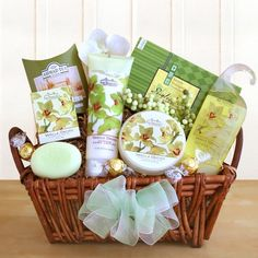 Mothers Day Vanilla Orchid Spa Gift Basket « MyStoreHome.com – Stay At Home and Shop