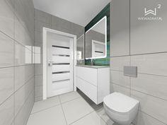 Projekt nowoczesnej łazienki Toilet, Bathroom, Washroom, Flush Toilet, Full Bath, Toilets, Bath, Bathrooms, Toilet Room