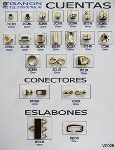 CUENTAS, CONECTORES, ESLABONES - Código: VC028