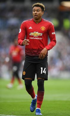 ❤️ Jesse Lingard of Manchester United reacts following the Premier League match between Brighton & Hove Albion and Manchester United at American Express Community Stadium on August 19, 2018 in Brighton, United Kingdom. Manchester United Premier League, Manchester United Wallpaper, Manchester United Football, Brighton & Hove Albion, Brighton And Hove, Neymar Jr Hairstyle, Lingard Manchester United, Man Utd Fc, Barcelona Soccer