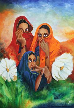 Buy Colours Of India artwork number a famous painting by an Indian Artist Anoop V. Indian Art Ideas offer contemporary and modern art at reasonable price. Indian Folk Art, Indian Artist, Contemporary Abstract Art, Modern Art, Art Pictures, Art Images, Indian Art Gallery, India Painting, Traditional Art