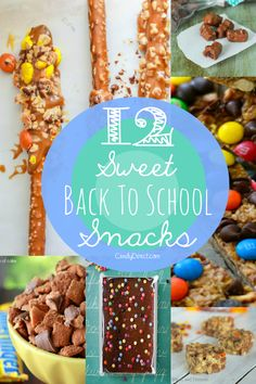 These 12 Back To School Snacks Are Easier To Make Than You Think - CandyDirect's Blog - DIY Tips & Candy News